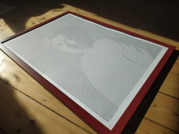 "Rosa Luxemburg Poster ""Sozialreform oder Revolution"""