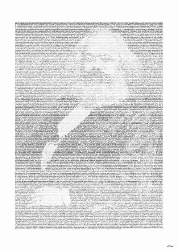 """Karl Marx Poster """"Lohn, Preis und Profit"""""""