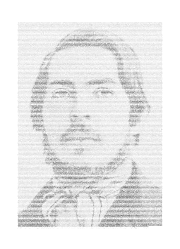Friedrich Engels Textposter